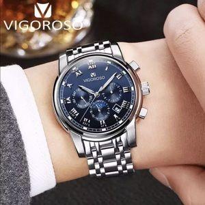 Man's Watch, Analog Date Quartz Watch